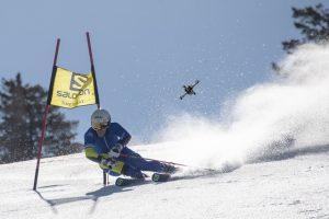Skier vs. Drone